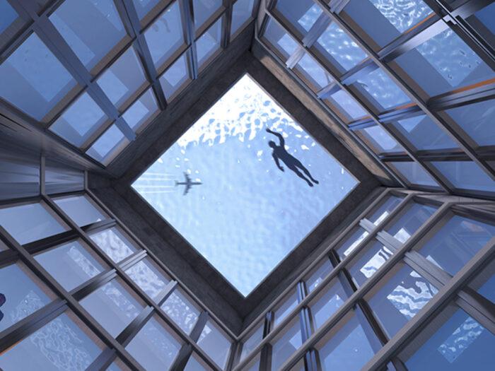 В Лондоне откроется первый в мире бассейн с обзором 360 градусов