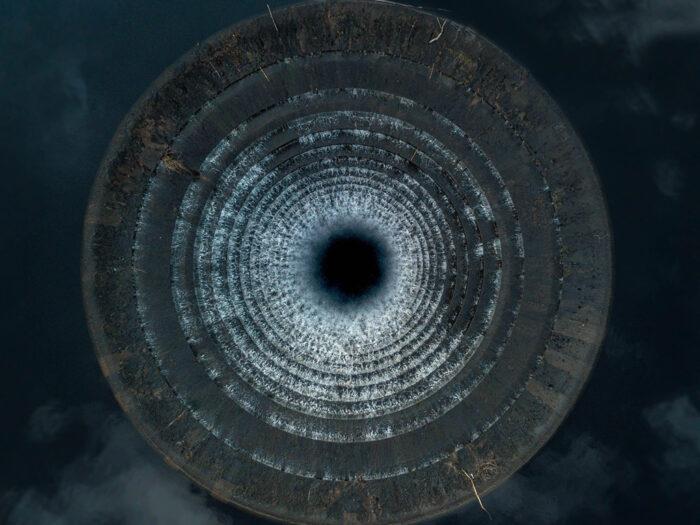 Ледибауэр — уникальная воронка-водосброс